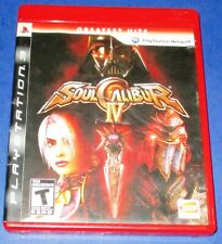 "Soul Calibur IV ""Greatest Hits"" PS3 *Complete w/ Manual! *Free Ship!"