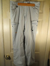 Womens Roxy 5000 Insulated Ski Snowboard PowderBlue Pants - see measurements