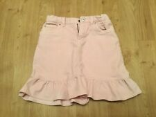GAP Pink Sparkly Frilled Cord Skirt Size 8 yrs