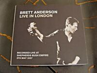 Slip CD  Double: Brett Anderson Live In London Shepherds Bush Empire 2007 Suede