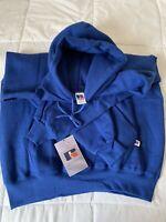 NWT New Large Vintage RUSSELL ATHLETIC Mens Hoodie Sweatshirt 1990 Tag Deadstock