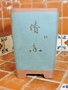 "Yixing 10"" High Quality Unglazed Semi Cascade Style Bonsai Pot Bonsai Pots"