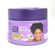 Dark And Lovely Rich & Natural Hair Food Nutritive Coconut Oil 150ml FREE P&P