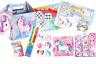 Pre Filled Unicorn Party Box -  Fantasy Ponies Girls Parties Activity Gift Bags