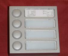 Ritto 1875420 Tastenmodul (4 Tasten) Twinbus silber (B10)