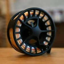 Lamson Liquid 3.5 Fly Reel - GREAT REEL - WITH 5 weight Switch Line on it!
