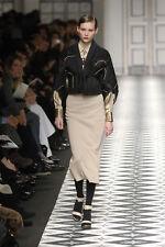 ANTONIO MARRAS Grey Wool High Waist Skirt 40 4