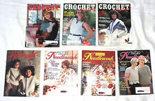 VTG 3 Crochet Fantasy 1 Country Handcraft Fashion 3 McCalls Needlework Magazines