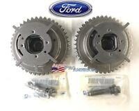 (2) NEW OEM Ford Camshaft Phaser Sprockets F-150, F-250 Explorer V8 4.6L 5.4L