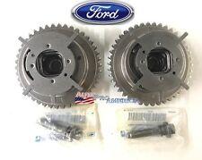 (2)NEW OEM Ford 5.4L 3V Camshaft Phaser Sprockets - F-150, F-250 Explorer V8 5.4