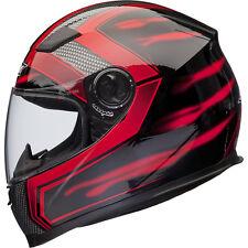 Shox Sniper Skar Motorcycle Helmet M Red