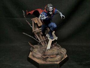 MORBIUS THE LIVING VAMPIRE MODEL KIT BUILT UP