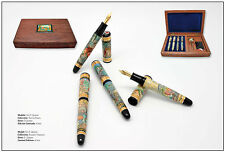 Kynsey Don Quixote Limited Edition of 4 Fountain Pen Set