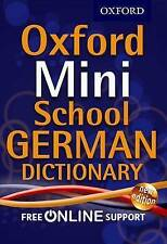 Oxford Mini School German Dictionary, Oxford Dictionaries , Very Good, FAST Deli