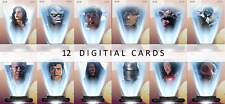 Topps Star Wars Card Trader Binary Sunset Base Variant 12 cards wave 1