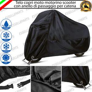 TELO COPRI MOTO COPRIMOTO MOTORINO SCOOTER IMPERMEABILE TAGLIA M 200x90x100 CM