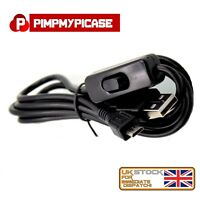 Micro USB Power Cable with ON/OFF Switch for Raspberry Pi
