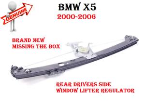 2000-2006 BMW X5 Rear Passenger Side Door Window Lifter Regulator GENUINE