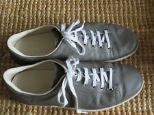 Men's Gucci leather grey sneakers size 10G, pre loved