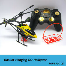 3.5CH Gyro Helicopter RTF Remote Control Airplane RC Helicopter + Red Basket UK