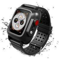 Apple iWatch Series 4/5 Waterproof Case 44mm Premium Soft Bands Series 3 42 38mm