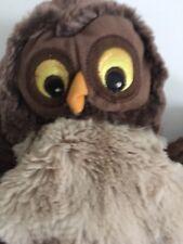 Plush Owl Hand Puppet Ikea Vandring Uggla Brown