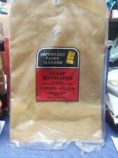 Brown Kraft Catalog Clasp Envelopes Gummed Seal 10 X 13 9 Made In Usa