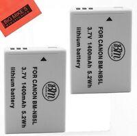 BM 2X NB-5L Batteries for Canon PowerShot SX230 HS, SX210 HS, SX200HS, S100 S110