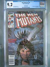 New Mutants #18 UPC Canadian Edition RARE CGC 9.2 WP 1984 1st app new Warlock
