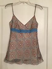 J. Crew Woman's 100% Silk Lined Blouse - Paisley - Size 2 - NWOT