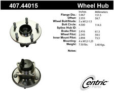 Wheel Bearing and Hub Assembly fits 2009-2013 Toyota Matrix  CENTRIC PARTS