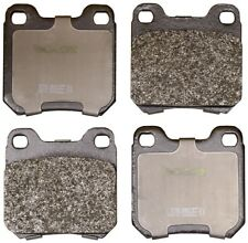 Disc Brake Pad Set-Convertible Rear Monroe DX709