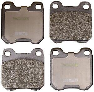 Disc Brake Pad Set-Convertible Rear Monroe DX709