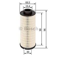 filtre a carburant gazole BOSCH FF20 1457431721 - FE9 OPEL astra corsa meriva ..