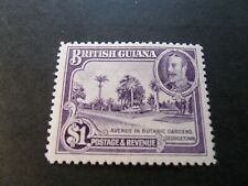 British Guiana  1934   KGV  $1  Mm  Stamp  as per  pictures