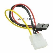 5PCS Male Female 4-pin Power Drive Adapter Cable to Molex IDE SATA 15-pin