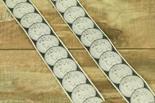 Trafalgar Limited Edition Silver Liberty Coin Gray Adjustable Suspenders Braces
