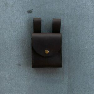 Utility Belt Pouch, Suspended Loops, Leather, Australian Made