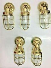 nautical new marine brass ship american passageway light 5 piece