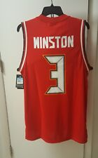 Jameis Winston #3 NFL Tampa Bay Buccaneers Nike Jersey B-ball style NWT size M