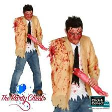 SEVERED ARM ZOMBIE COSTUME Walking Dead Zombie Halloween Fancy Dress Outfit 8429