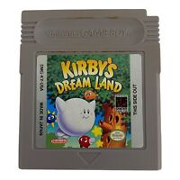 Kirby's Dream Land (Nintendo Gameboy Game Boy GB) Cart and case GREAT Shape