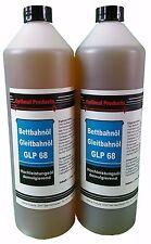 Hochleistungs Gleitbahnöl 2 X 1 Liter Flasche Bettbahnöl GLP 68