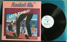 ROCKET 88s LETS RUMBLE!~SIGNED ORG 1984 PRO INDIE LP~ARIZONA PRIVATE LABEL~BLUES