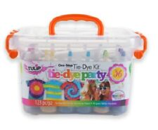 Tulip Tie Dye Kit 123 PCS 14 Color Party Tub New 18 BOTTLES 36 PROJECTS tye die