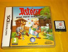 ASTERIX SONO PAZZI QUESTI GALLI Nintendo Ds Versione Italiana SENZA MANUALE - A5