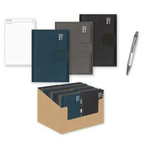 2021 Day Per Page Premium Organiser Diary with Pen