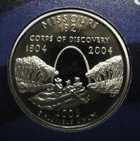 2003-S Missouri Gem DCAM Clad Proof State Quarter Stunning Coin  DUTCH AUCTION