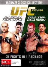 UFC: 137/138 Penn vs Diaz / Leben vs Munoz (3 Discs)