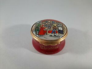 Cartier Happiest at Christmas 1978 Toy Store Hinged Trinket Box